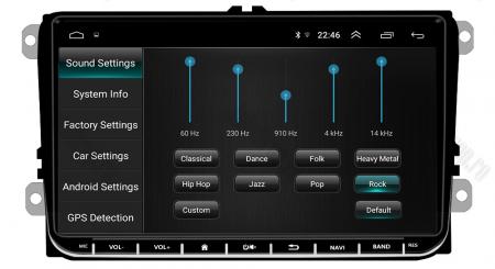 [Oferta] Navigatie Volkswagen, Skoda, Seat, Android 9.1, QUADCORE|MTK| / 1GB RAM + 16GB ROM, 9 inch - AD-BGPVW9MTK8
