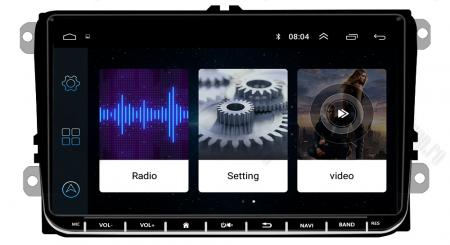 [Pachet] Navigatie Skoda Octavia 2 Facelift, Android 8.1, QUADCORE|MTK| / 1GB RAM, 9 inch - AD-BGPVW9SKMTK4