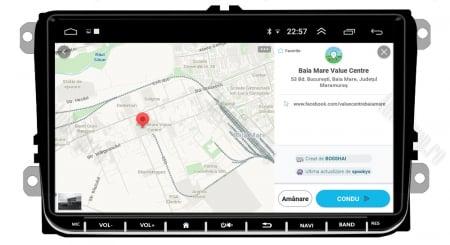 [Oferta] Navigatie Volkswagen, Skoda, Seat, Android 9.1, QUADCORE|MTK| / 1GB RAM + 16GB ROM, 9 inch - AD-BGPVW9MTK12