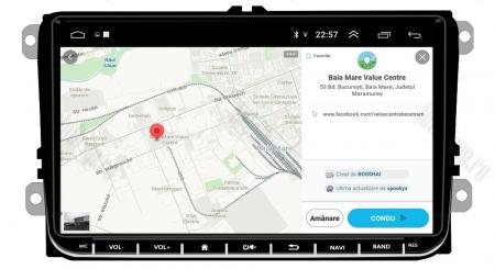 [Pachet] Navigatie Skoda Octavia 2 Facelift, Android 8.1, QUADCORE|MTK| / 1GB RAM, 9 inch - AD-BGPVW9SKMTK17