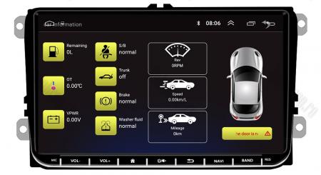 [Pachet] Navigatie Skoda Octavia 2 Facelift, Android 8.1, QUADCORE|MTK| / 1GB RAM, 9 inch - AD-BGPVW9SKMTK13