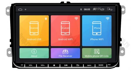 [Oferta] Navigatie Volkswagen, Skoda, Seat, Android 8.1, QUADCORE|MTK| / 1GB RAM, 9 inch - AD-BGPVW9MTK7