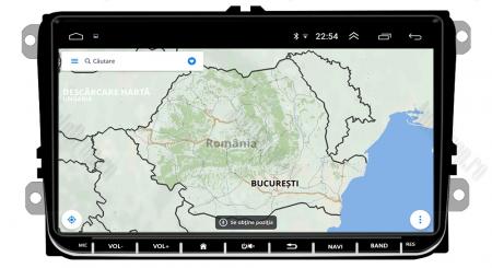 [Pachet] Navigatie Skoda Octavia 2 Facelift, Android 8.1, QUADCORE|MTK| / 1GB RAM, 9 inch - AD-BGPVW9SKMTK16