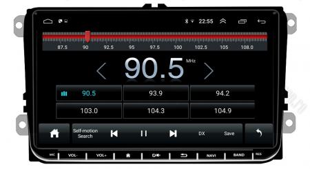 [Pachet] Navigatie Skoda Octavia 2 Facelift, Android 8.1, QUADCORE|MTK| / 1GB RAM, 9 inch - AD-BGPVW9SKMTK8