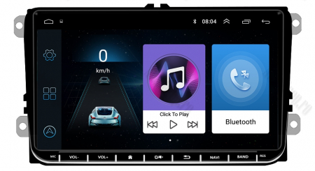 [Pachet] Navigatie Skoda Octavia 2 Facelift, Android 8.1, QUADCORE|MTK| / 1GB RAM, 9 inch - AD-BGPVW9SKMTK3