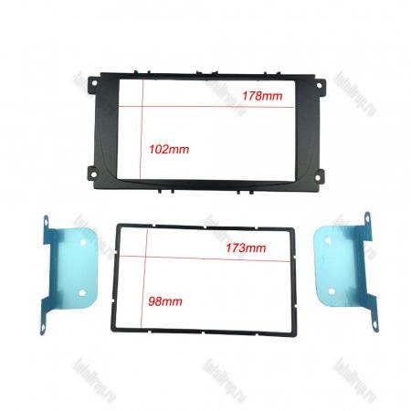 Rama Adaptoare FORD FOCUS/GALAXY/MONDEO/S-MAX pentru Multimedia 2DIN Universale/MP5 - AD-BGRFORDO2DIN1