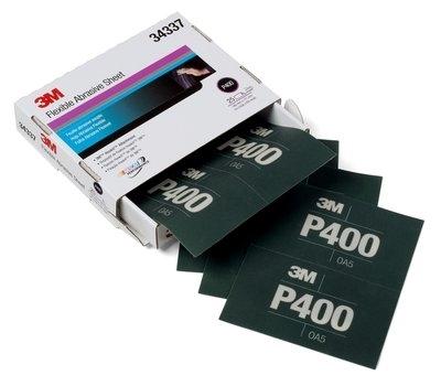 Coala abraziva flexibila hookit P400 pachet de 25 bucati 3M [0]