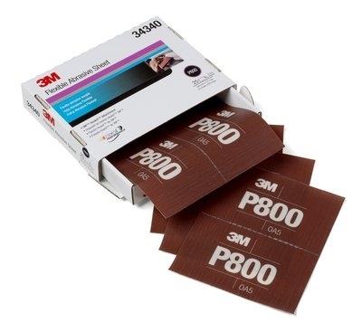 Coala abraziva flexibila hookit P800 pachet de 25 bucati 3M [0]
