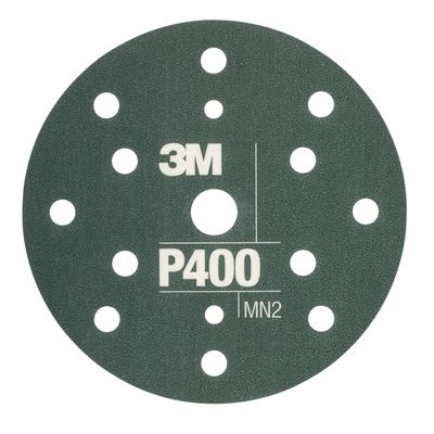 Disc abraziv flexibil hookit P400 pachet de 25 bucati  3M 0