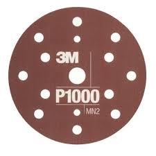 Disc abraziv flexibil hookit P1000 pachet de 25 bucati 3M [0]