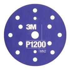 Disc abraziv flexibil hookit P1200 pachet de 25 bucati 3M [0]
