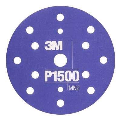 Disc abraziv flexibil hookit P1500 pachet de 25 bucati  3M 0