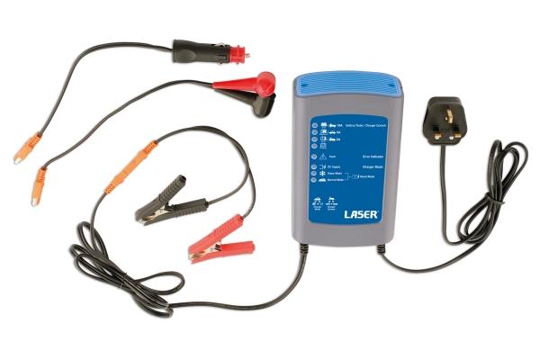 Încărcător baterie 4 în 1 – 10AMP Laser Tools [0]