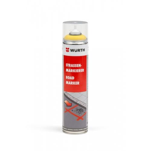 Spray marcaje galben 600 ml Wurth [0]
