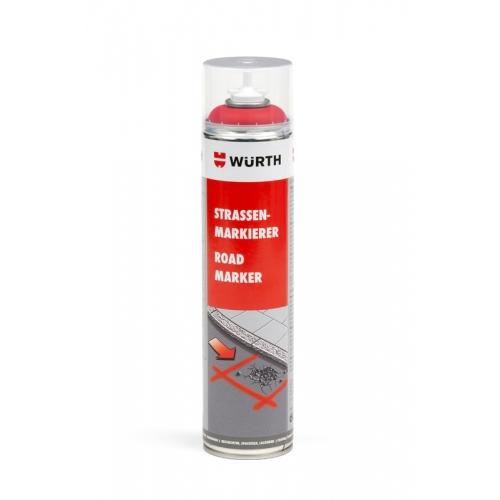 Spray marcaje rosu 600 ml Wurth 0