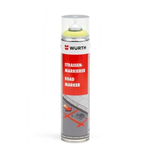 Spray marcaje galben neon 600 m Wurth 0