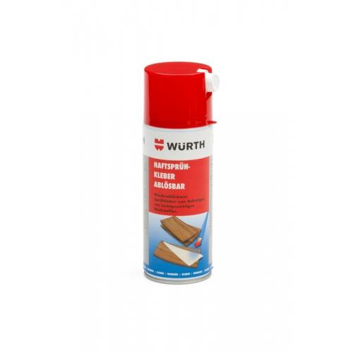 Adeziv spray nepermanent Wurth 0