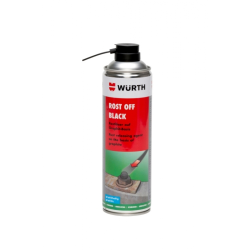 Degripant negru grafit 500 ml Wurth 0