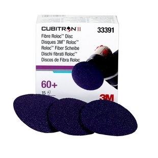 """Set 15 discuri de fibra 3M Cubitron II  Roloc Disc, 3""""  0"""