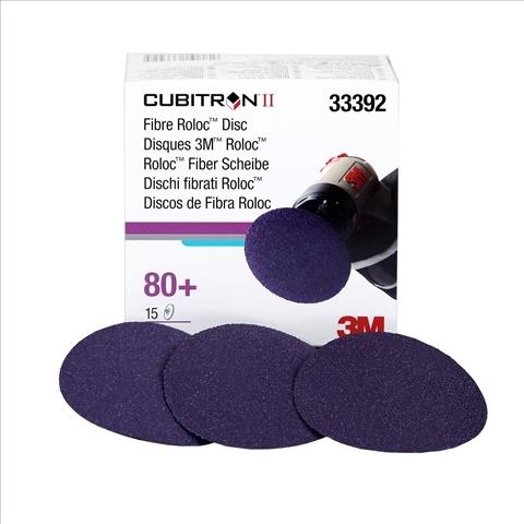 """Set 15 discuri de fibra 3M Cubitron II Roloc Disc, 3"""" [0]"""