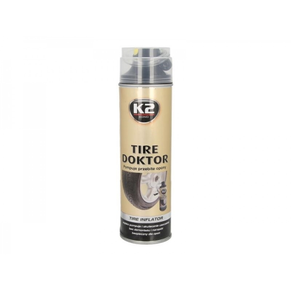Spray pentru reparatii anvelope, K2 535ml 0