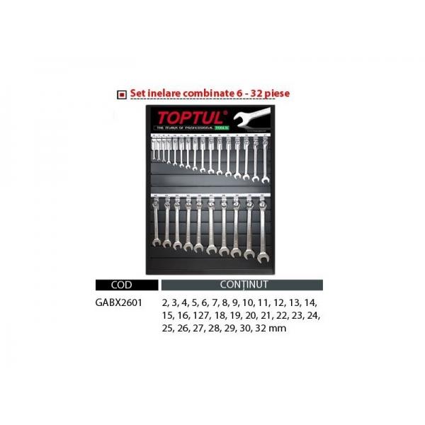 Set chei combinate fara stand 6-32 0