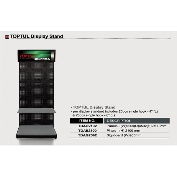 Display stand Cadru metalic 2100mm Toptul [0]
