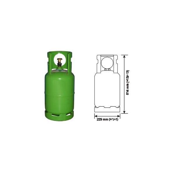 Butelie freon auto 12kg tip R134a 0
