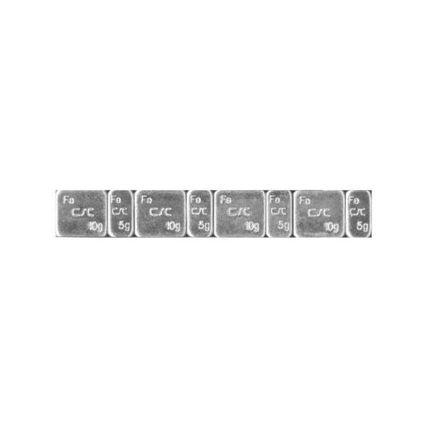 Greutati autoadezive 4x(5g + 10g) 100 bucati 3