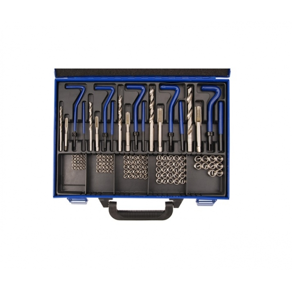 Set reparatii filete helicoil M5-M12, Force 130 piese [0]