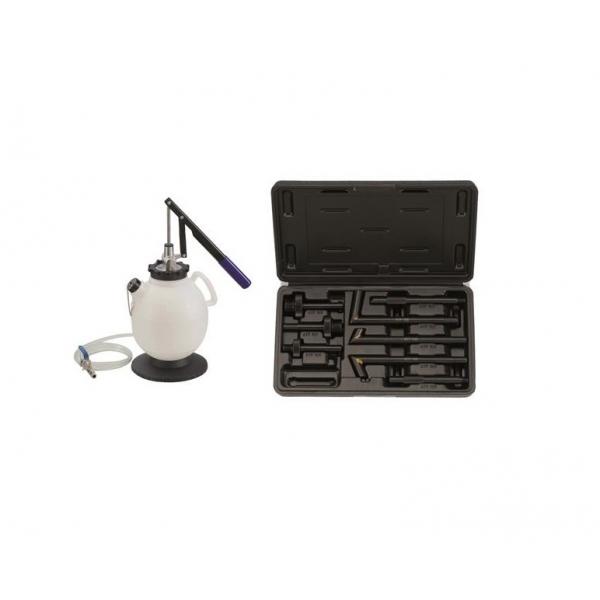 Kit 8 piese pompa manuala umplere ulei cutie de viteze, transmisie, diferential 7.5L, Force 0