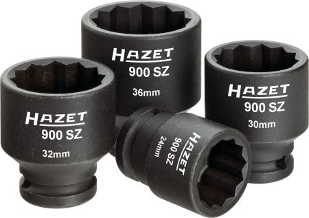 "Set 4 tubulare bihexagon de impact 1/2"" 24-30-32-36 mm 0"