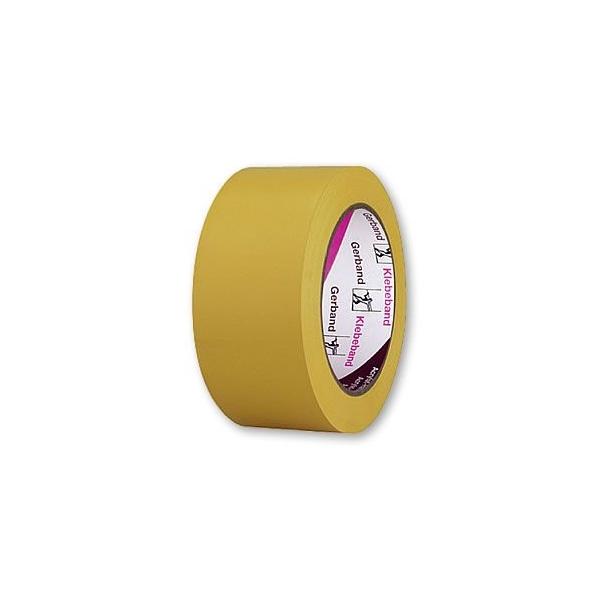 Banda PVC UV galbena 50mm/33m 1