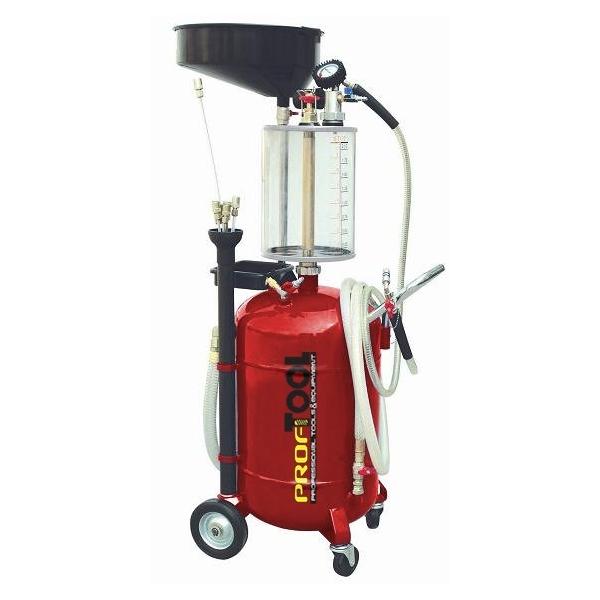 Recuperator ulei cu vacuum cu rezervor control 8l rezervor principal 90l 0
