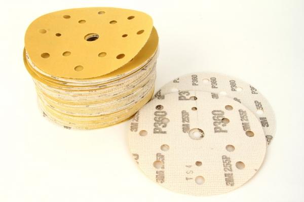 Disc abraziv Hookit P360 galben 100 bucati [0]