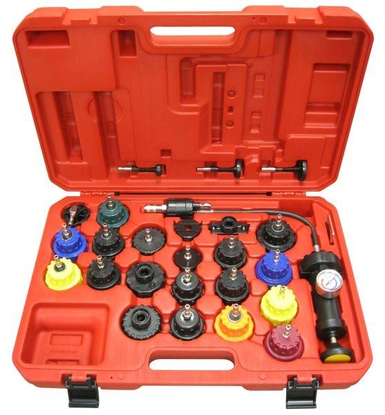 Set 25 piese tester diagnosticare presiune sistem racire motor auto 0
