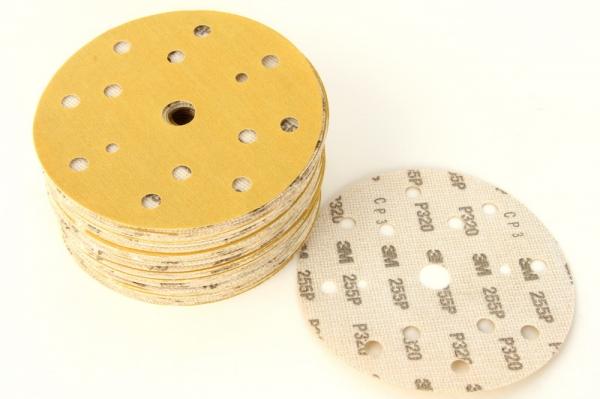 Disc abraziv Hookit P320 galben 100 bucati 0