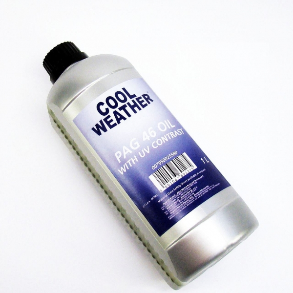 Ulei refrigerant sistem climatizare aer conditionat PAG 46 cu substanta contrast Magneti Marelli 1000 ml [0]
