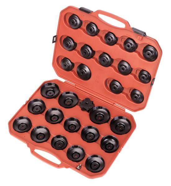 Set 28 piese chei filtru ulei cu o cheie 3 brate 0