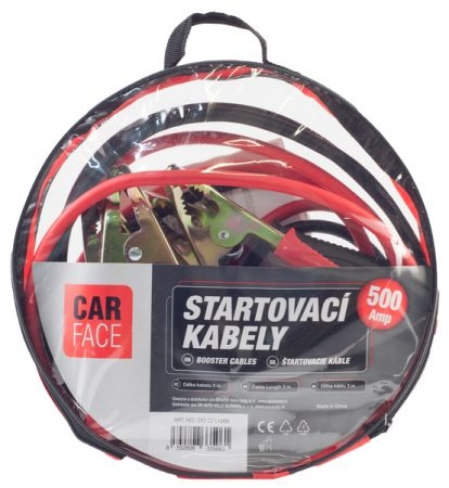 Cabluri pornire 500 A  Carface 0