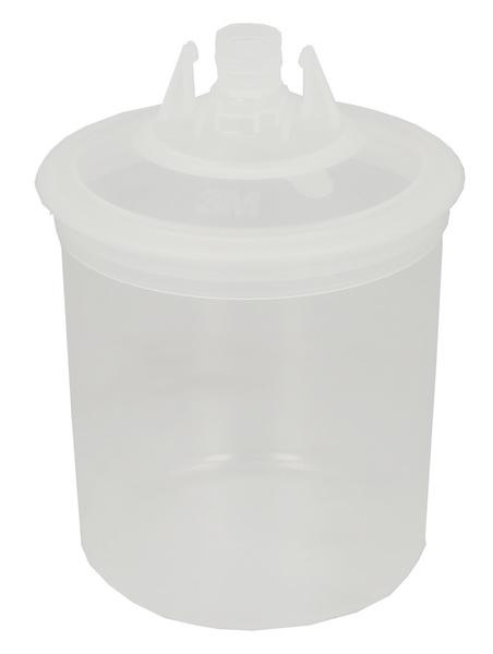 Pahar vopsea cu capac pachet 50 bucati [0]
