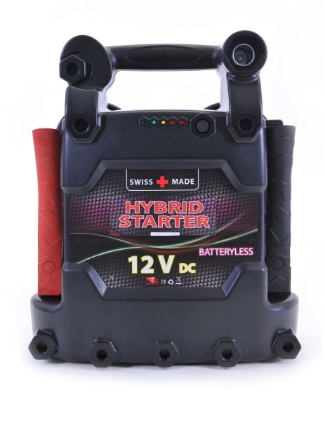 Robot de pornire 2 in 1 baterie si ultra condensatoare SuperCap Hybrid Strart Booster C5 12V 3500A 0