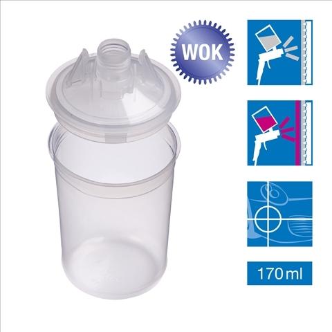 PPS mini 0.17L-set 50 Pungi mini&capace filtru 125 microni  3M 0