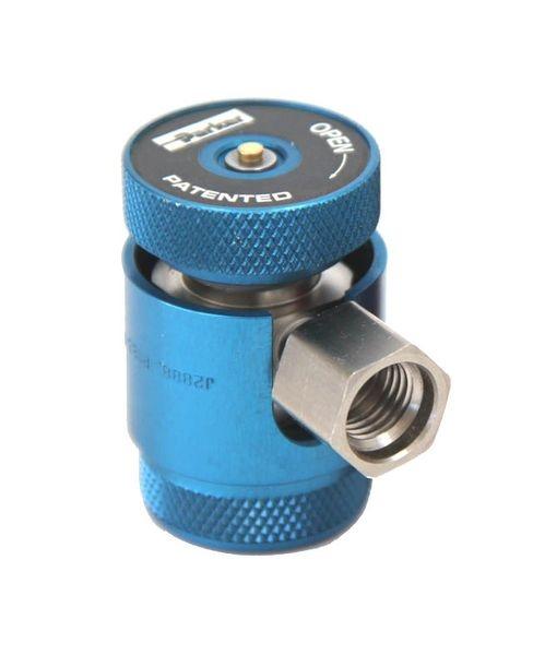 Cupla rapida albastru presiune joasa LP Parker R1234yf  14x1,5  sistem climatizare aer conditionat Magneti Marelli 0