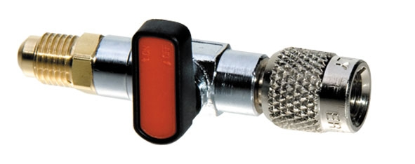 Conector 1/4 adaptor sistem climatizare cu supapa 0