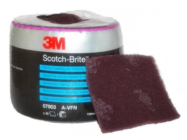 Disc burete Scotch Brite 115mmx150mm foarte fin 35 coli [0]