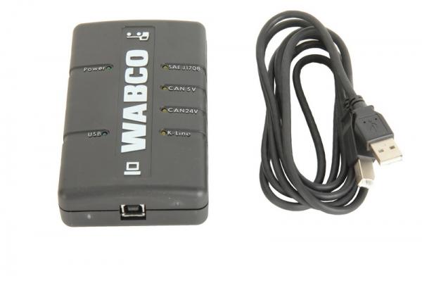 Inferfata diagnoza Wabco ABS / EBS Tip USB 2.0 DI-2 camioane 0