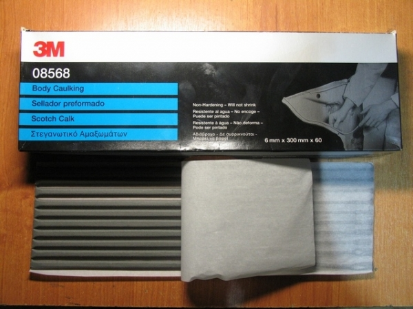 Set 60 fire Mastic 6mm x 300mm 3M [0]