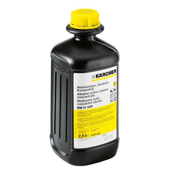 Sampon activ indepartare murdarie dura grasime gudron 2.5 litri Karcher 0