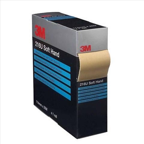 Rola 216U Soft roll P1000 113 mm x 25m   3M 0